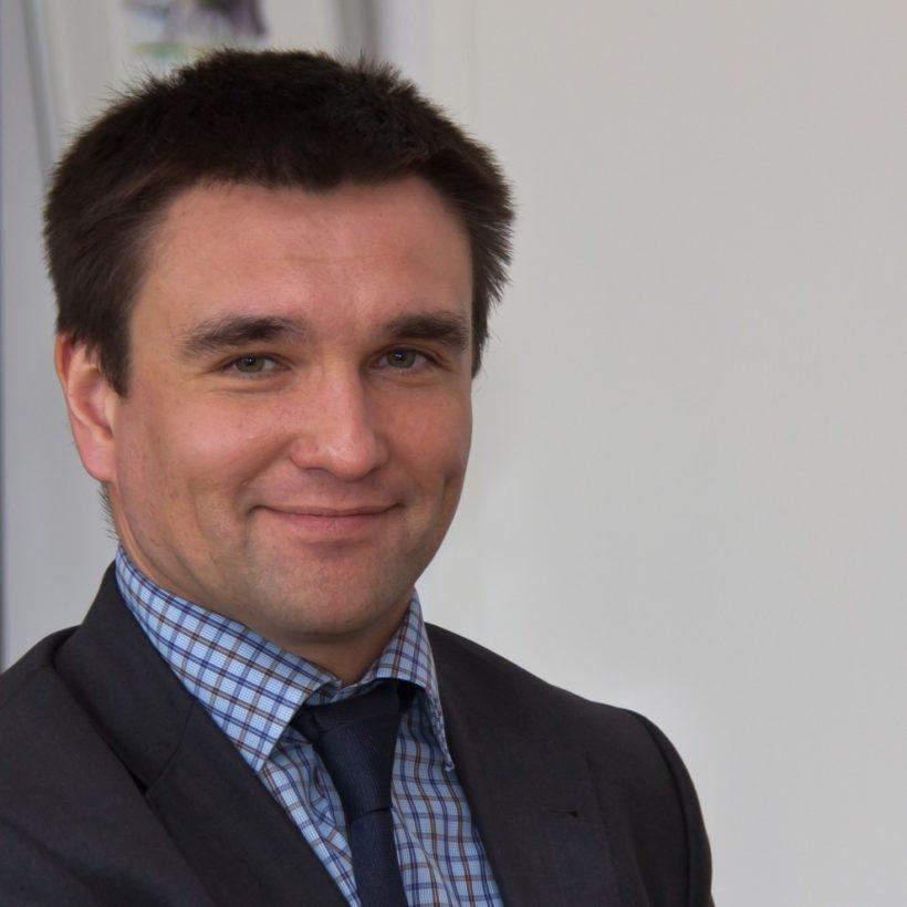 Antrittsbesuch ukrainischer Botschafter Pavlo Klimkin im Rathaus