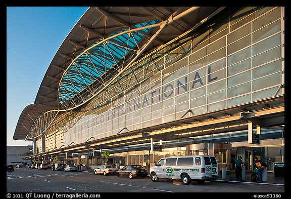 San Francisco International Airport. SF Bay area, California, USA