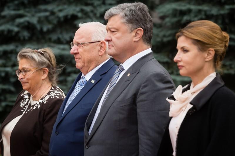 Porosenko Izrael támogatását kérte Ukrajna területeinek helyreállításában