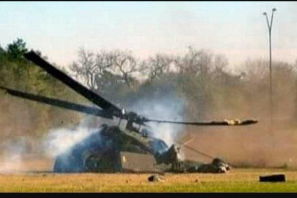 Lezuhant egy katonai helikopter Romániában