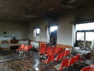Felgyújtották a roma gyülekezet imaházát Nagydobronyban