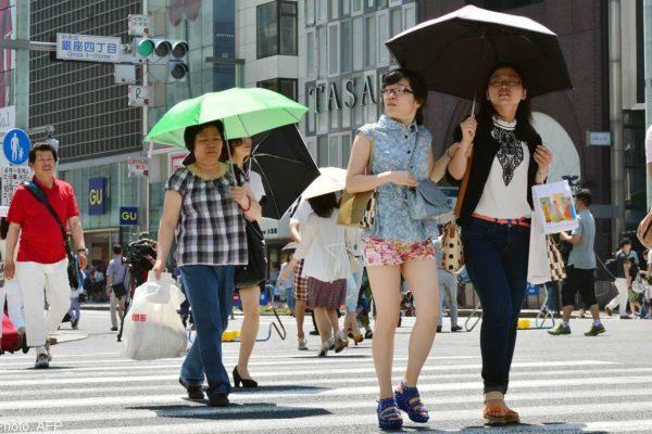Olyan hőség van Japánban, hogy legalább 12-en meghaltak már