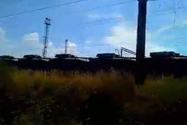 Több tucatnyi tank az ukrán–magyar határ közelében