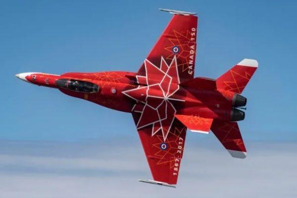 A kanadai légierő öt vadászgépe érkezik járőrszolgálatra Romániába