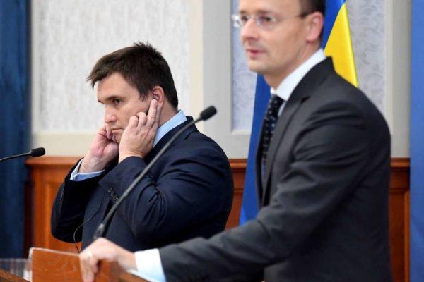 Klimkin magyar agressziót vizionál