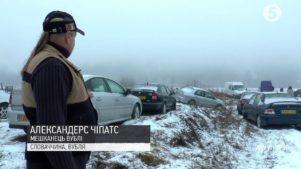 Rendszámmizéria: az ukránok autótemetőt csináltak egy szlovák faluból