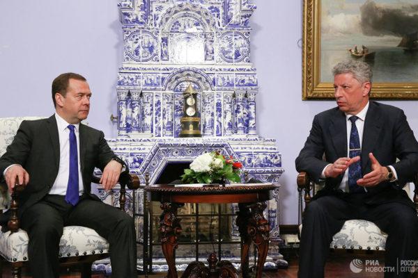 Medvegyev egy ukrán elnökjelölttel tárgyalt a gázszállításról