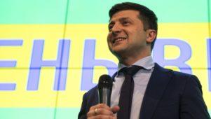 Zelenszkij továbbra is fölényesen vezet Porosenkóval szemben