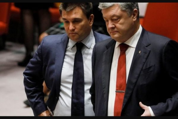 A NABU eljárást indít Klimkin és Porosenko ellen