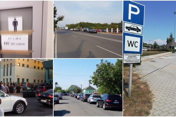 Embertelen sorok, 6-8 órás várakozások az ukrán-magyar határon