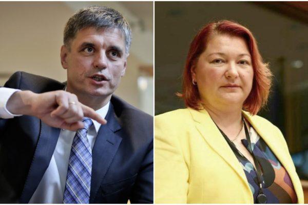 Bocskor Andrea az ukrán külügyminisztert faggatta