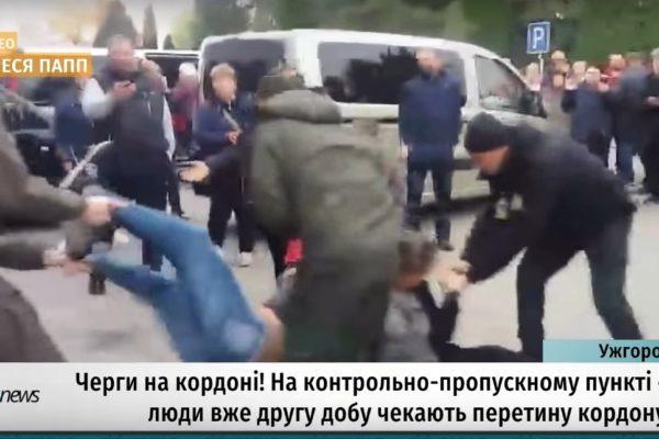 Áldatlan állapotok a Csap-Záhony határátkelő ukrajnai oldalán