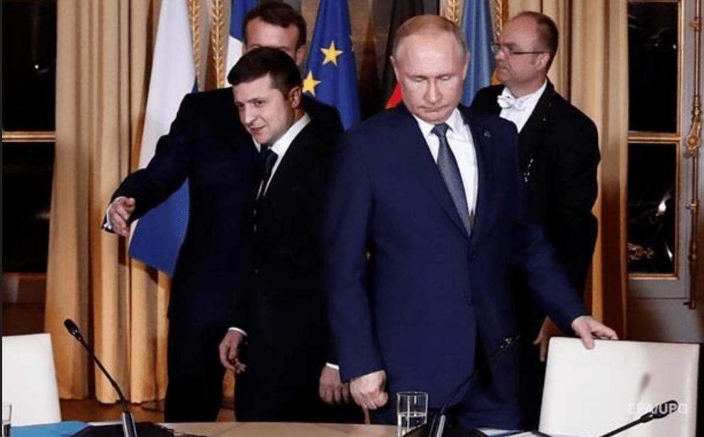 Zelenszkij: Putyin nem egy egyszerű ember
