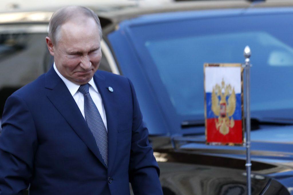 """Putyin elégedett a """"normandiai négyek tárgyalásaival"""