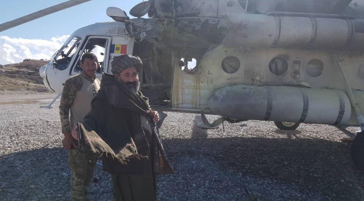 Rakétatalálat ért egy moldovai helikoptert Afganisztánban