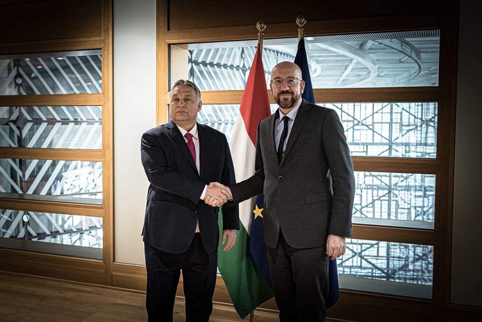 Az unió vezetőivel tárgyal Orbán Viktor