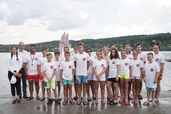Határon túli magyar fiataloknak kezdődött vitorlástábor Orfűn