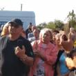 A gáz szállítási díja ellen tüntettek Nagyszőlősön (+ videó)