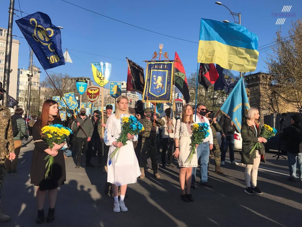 A Nép Szolgája nem tudott a neonácik kijevi demonstrációjáról
