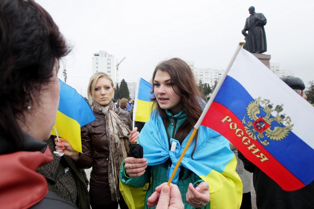Az orosz nem őshonos nép Ukrajnában